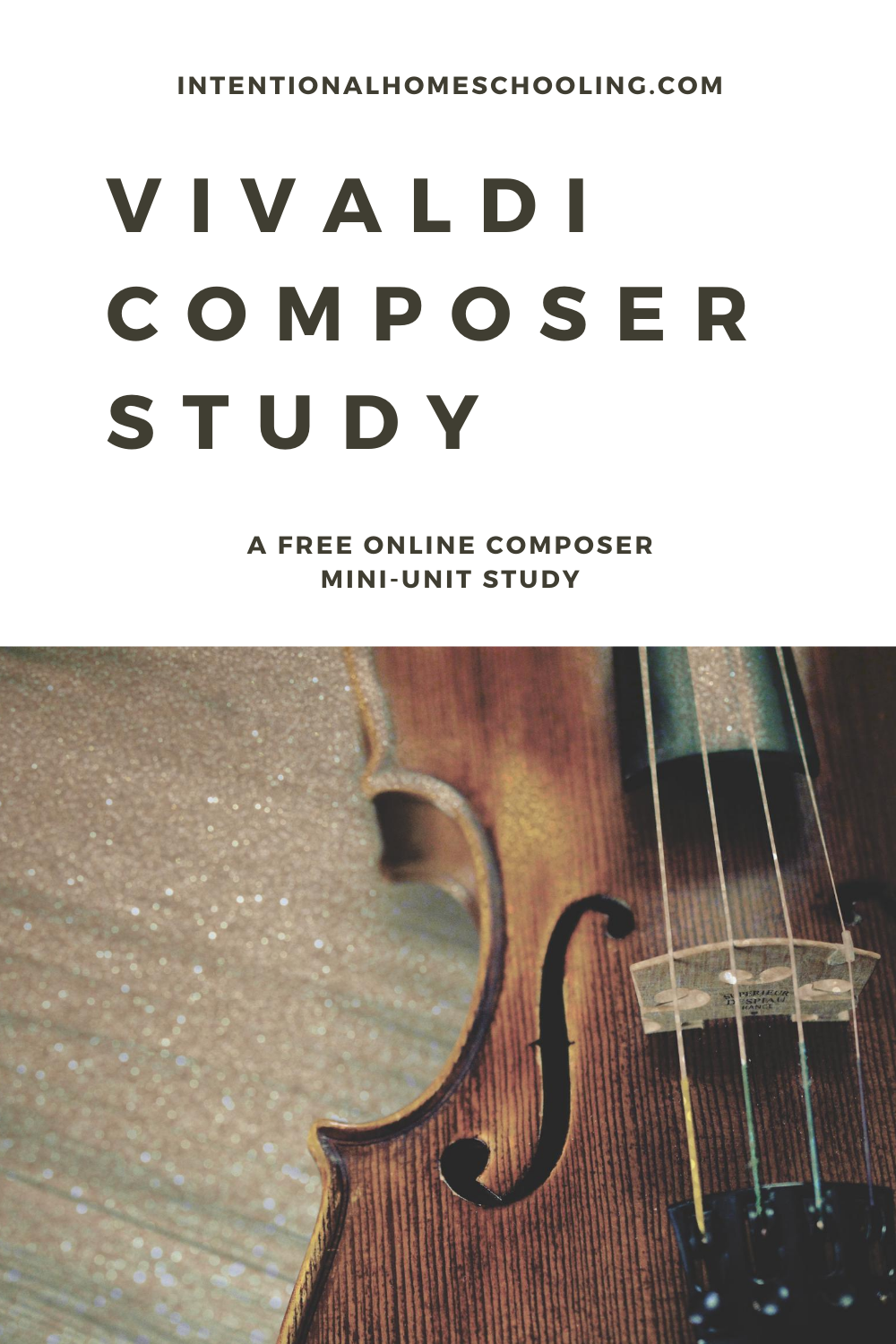 Free Vivaldi Composer Study Resource Unit Study