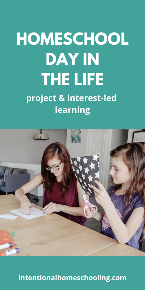 Homeschool Day in the Life video - unschooling and project and interest-led learning