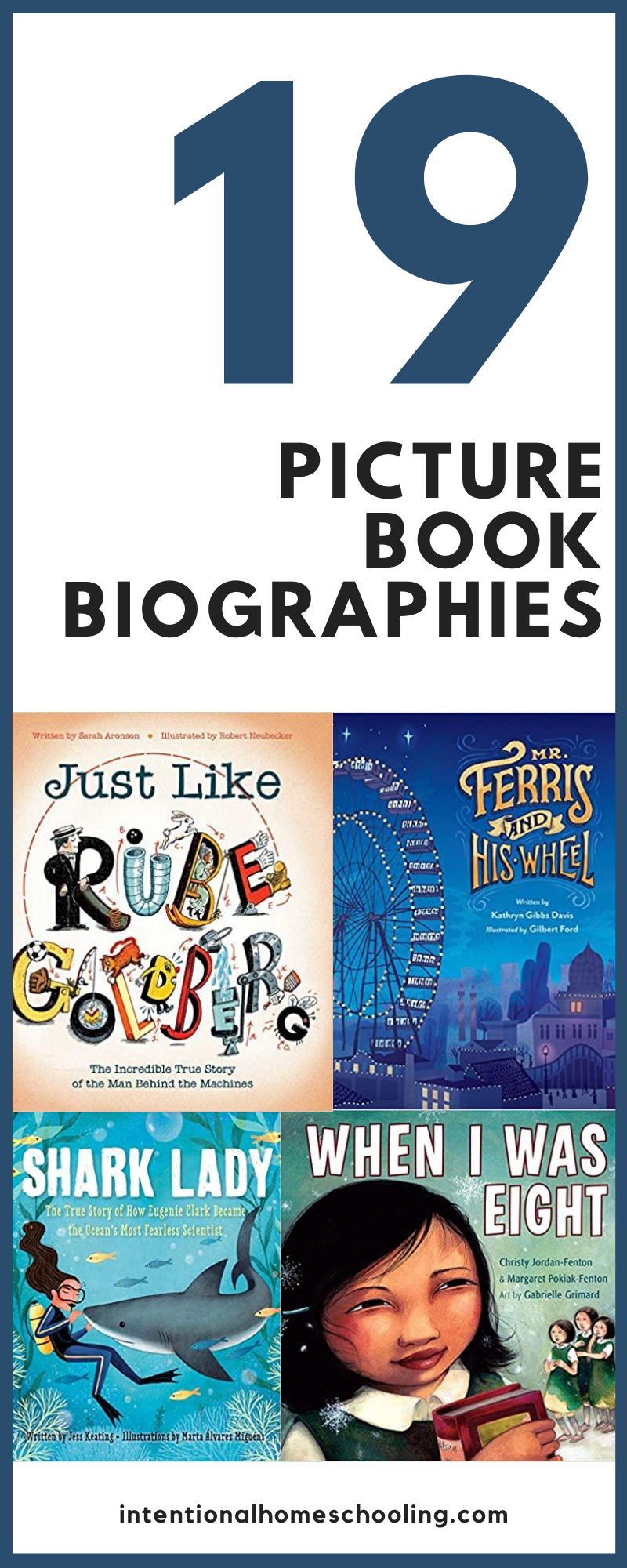 Great Picture Book Biographies - a great way for kids to learn history