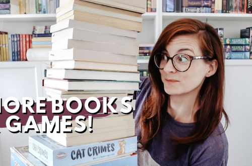 Homeschool Resource Haul - lots of games, picture books, elementary books and middle school books