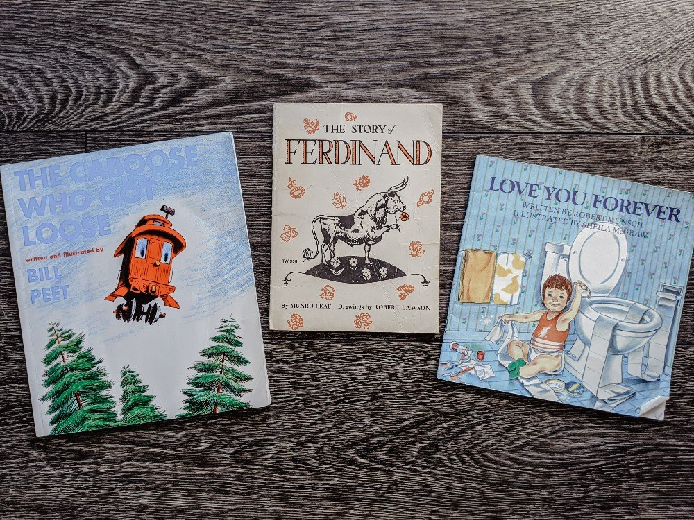 Classic Picture Books that are still good today - a list of classic picture books that have stood the test of time
