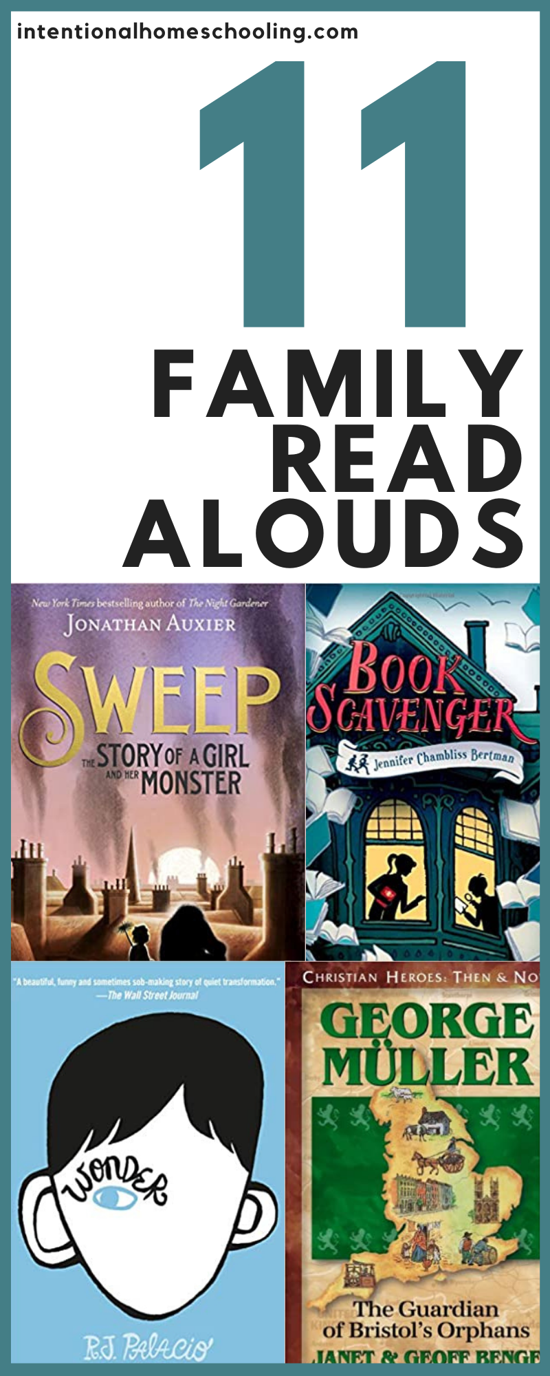 Family Read Alouds we've read recently - middle grade books for the family