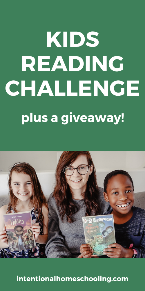Kids Reading Challenge - a month long readathon for kids - with a giveaway!