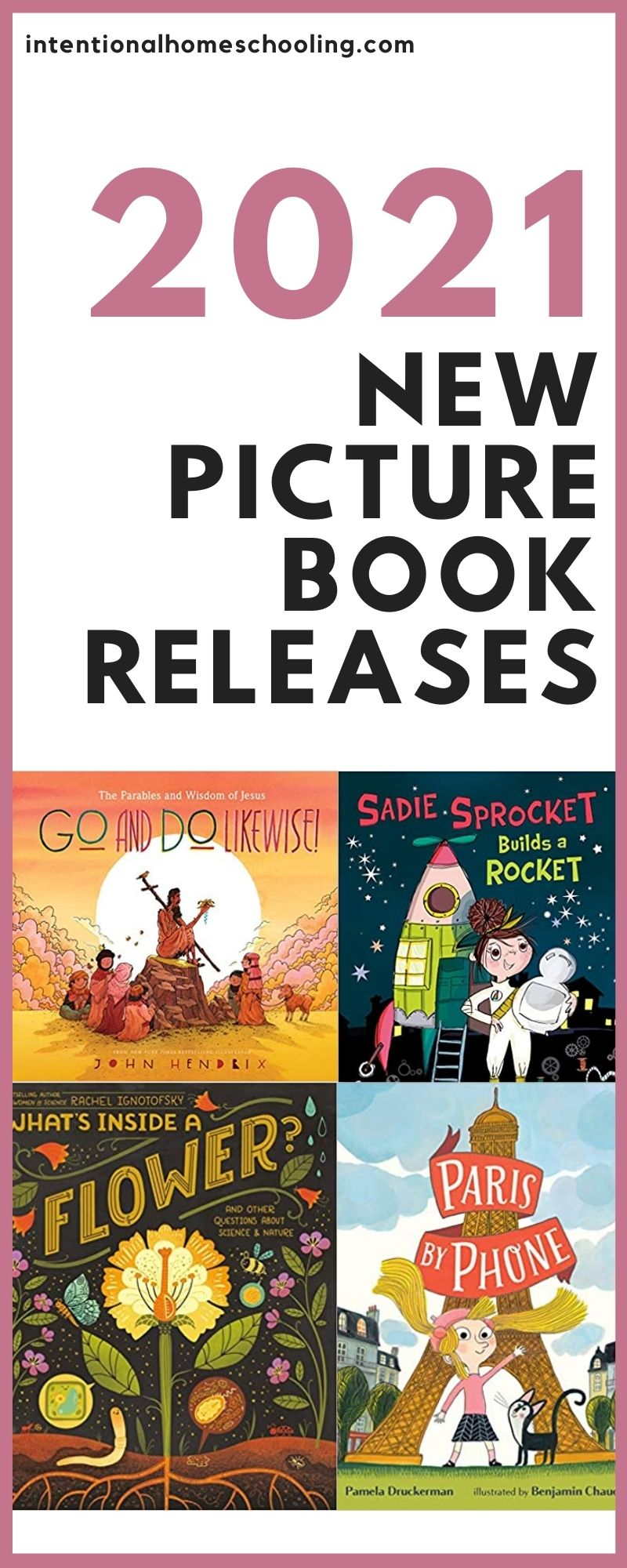 2021 New Picture Book Releases - great sounding picture books that are being released February 2021