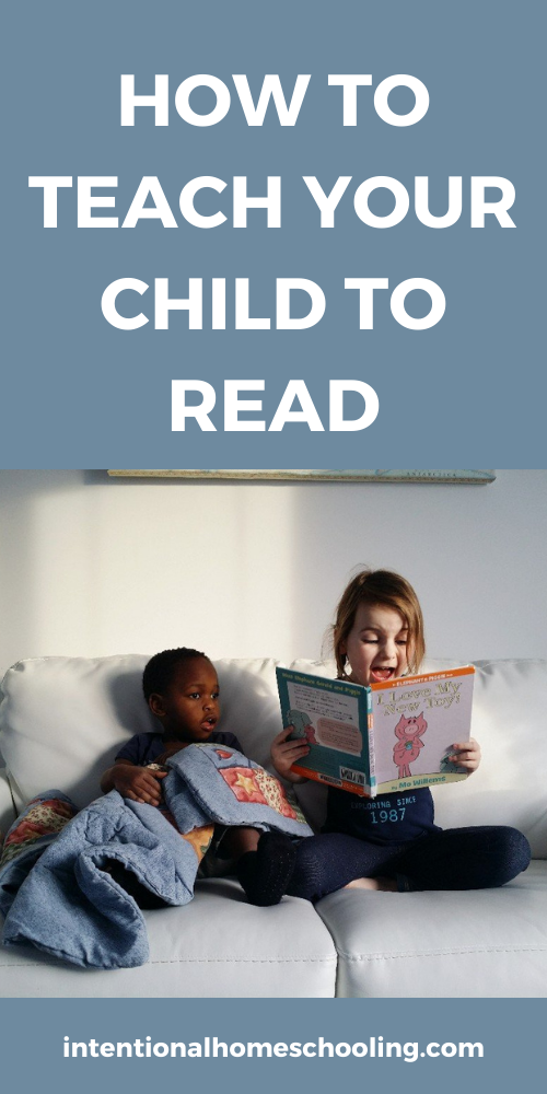 How to Teach Kids to Read and Tips for Struggling Readers
