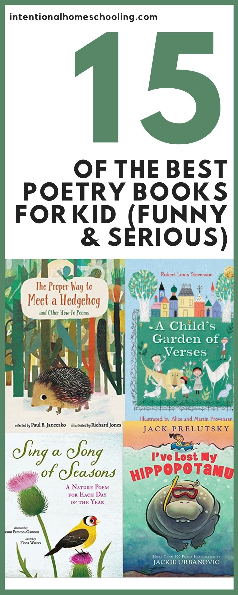 15 of the Best Poetry Books for Kids and How We Have Poetry Tea Time in Our Homeschool