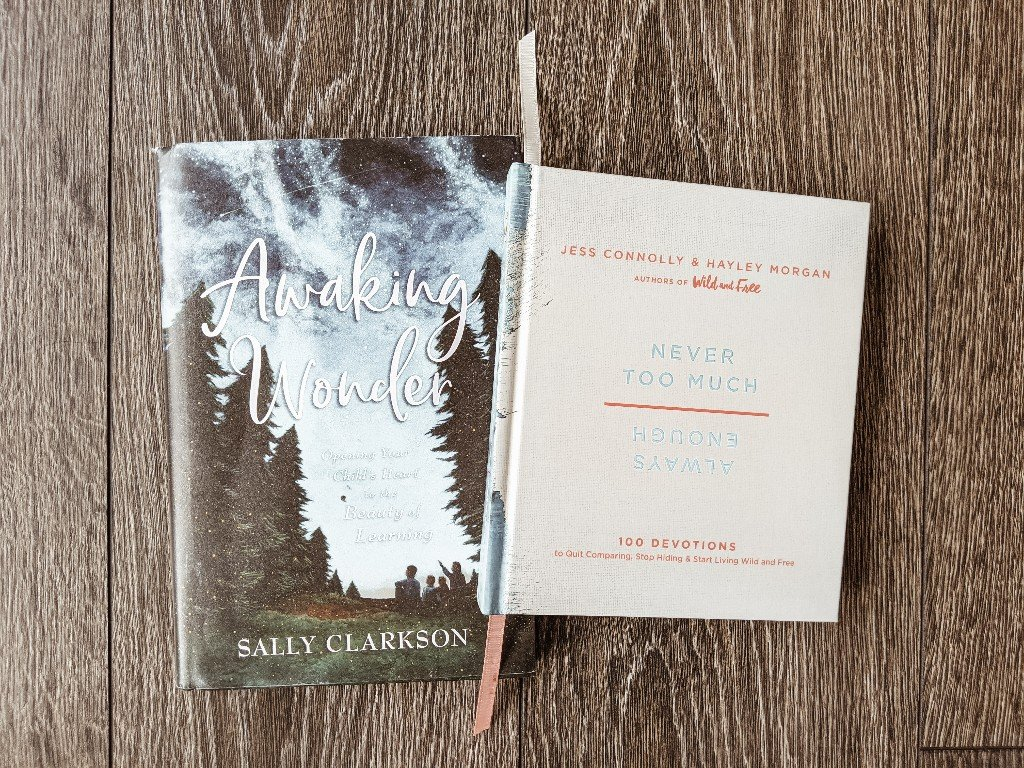 A Look Inside My Mother Culture Morning Basket - the books I read as a mother