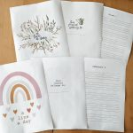 A Line a Day Journals – perfect for writing practice and memory keeping