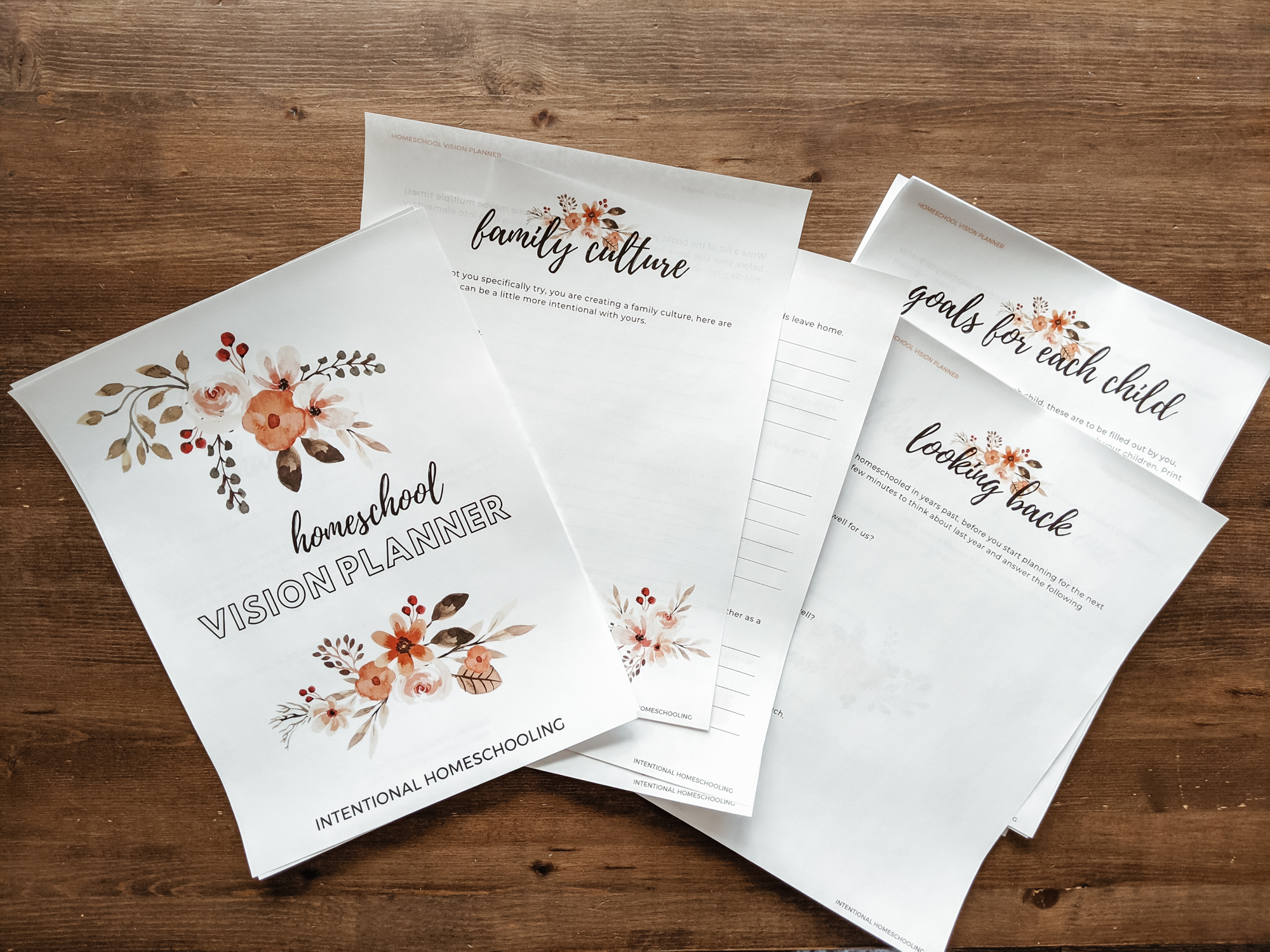 Homeschool Year in Review - Using the Intentional Homeschooling Vision Planner