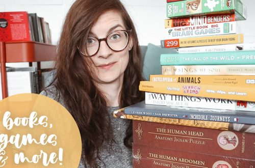 Homeschool Resource Haul - lots of educational books, games and more!