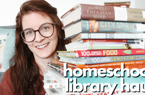📚 MAY HOMESCHOOL LIBRARY HAUL 📚 even more amazing books!