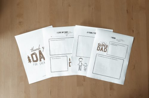 Free Father's Day Printable for Kids to fill out - great for older kids