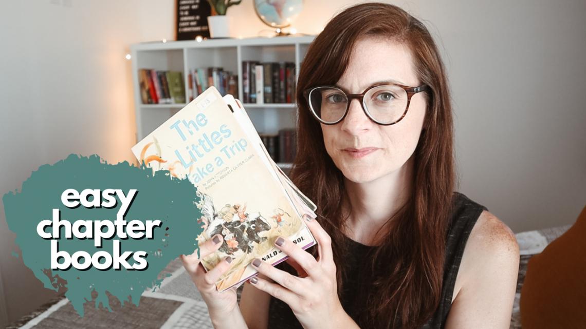 Easy Chapter Books for Kids - great beginner chapter books for early readers