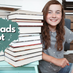 WHAT MY TEN YEAR OLD READ in the last two months – lots of fantasy and mystery books!